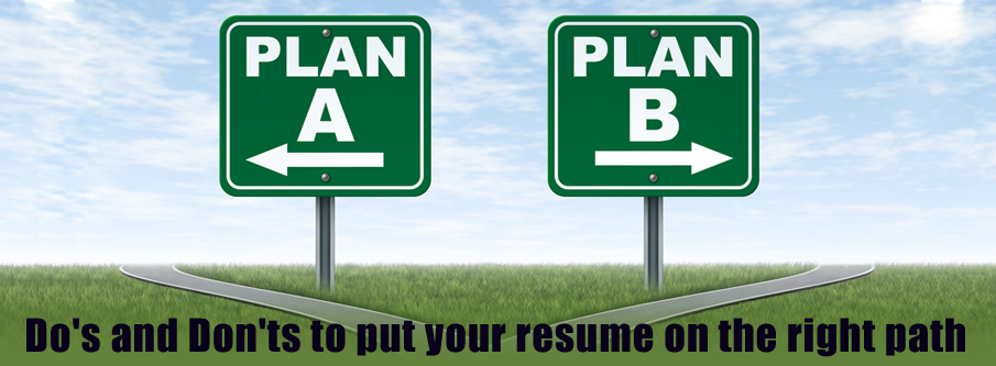 Resume Writing Dos And Donts Advice Tips How To Write Winning