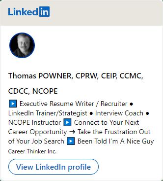 Tom Powner Linkedin Badge